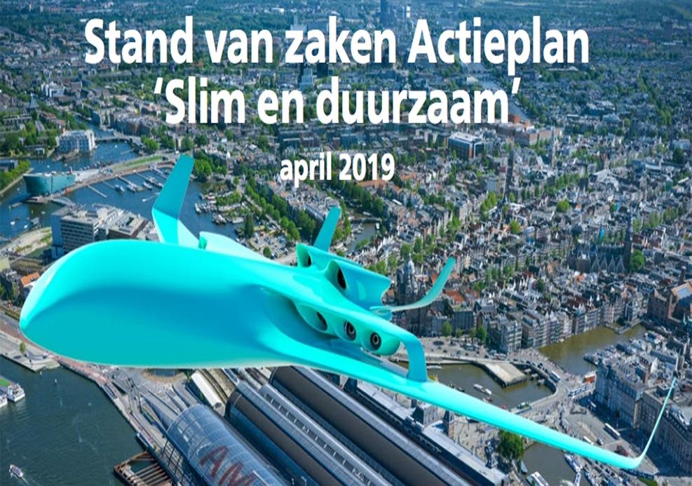 """Stand van zaken actieplan """"Slim en Duurzaam"""" april 2019"""